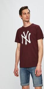 T-shirt New Era z krótkim rękawem z nadrukiem
