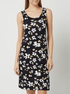 Czarna sukienka Ichi mini na ramiączkach