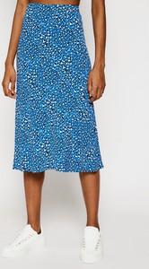Niebieska spódnica Tommy Jeans w stylu casual
