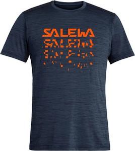 T-shirt Salewa w sportowym stylu