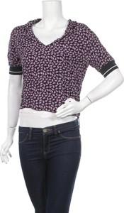 Bluzka ZARA w stylu casual z dekoltem w kształcie litery v