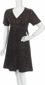 Czarna sukienka Mette Moller w stylu casual