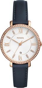 Zegarek FOSSIL - Jacqueline ES4291 Blue/Rose Gold