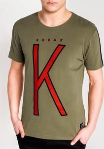 Zielony t-shirt Edoti