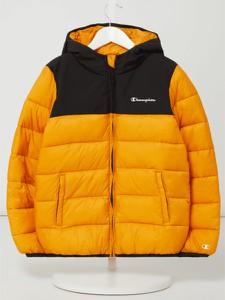 Żółta kurtka dziecięca Champion dla chłopców