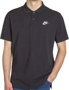 Koszulka polo Nike z bawełny z krótkim rękawem
