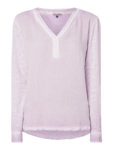 Fioletowa bluzka Buena Vista z bawełny