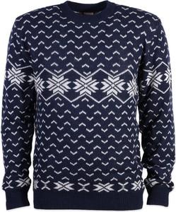Sweter Willsoor w młodzieżowym stylu z okrągłym dekoltem