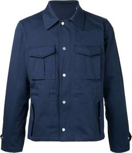 Niebieska kurtka Kent & Curwen z bawełny w stylu casual