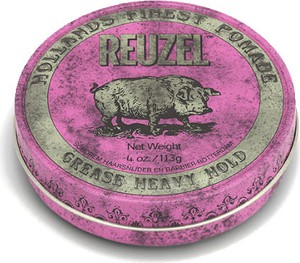 Reuzel Pink Grease Heavy Hold różowa pomada woskowa 340g