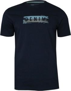 T-shirt Pako Jeans z krótkim rękawem z nadrukiem z tkaniny