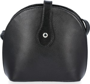 Czarna torebka VITTORIA GOTTI średnia matowa ze skóry