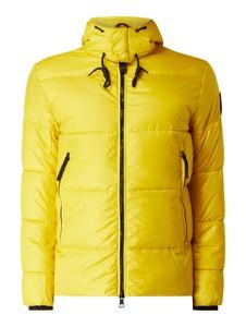 Żółta kurtka Tom Tailor w stylu casual