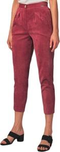 Czerwone spodnie Figl