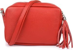Pomarańczowa torebka producent niezdefiniowany w stylu boho na ramię
