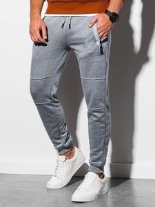 Spodnie sportowe Ombre w stylu casual z dresówki