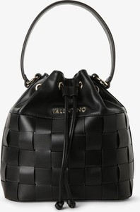 Czarna torebka Valentino na ramię matowa