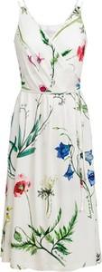 Sukienka RISK made in warsaw mini z dekoltem w kształcie litery v na ramiączkach