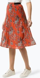 Pomarańczowa spódnica Pepe Jeans z szyfonu w stylu casual