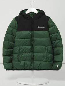 Zielona kurtka dziecięca Champion