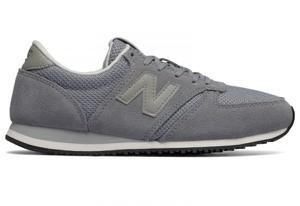 Buty New Balance sznurowane z płaską podeszwą ze skóry