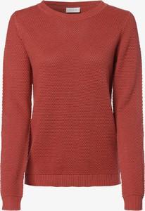 Różowy sweter Vila w stylu casual z dzianiny