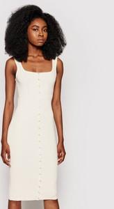 Sukienka Guess w stylu casual na ramiączkach midi