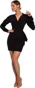 Sukienka MOE mini z długim rękawem
