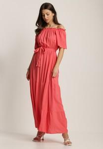 Sukienka Renee hiszpanka z krótkim rękawem maxi