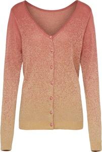 Brązowy sweter Numph z dzianiny