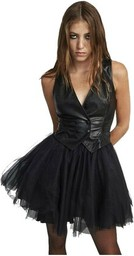 Czarna sukienka ANIYE BY mini