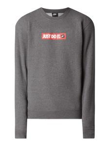 Bluza Nike z nadrukiem z bawełny