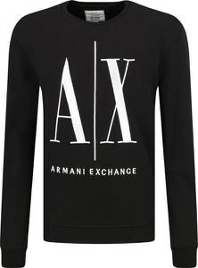 Czarna bluza Armani Jeans w stylu casual krótka