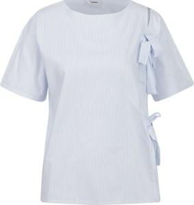 Niebieska bluzka Max & Co. z krótkim rękawem