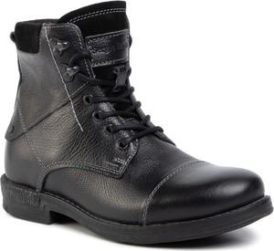 Buty zimowe Sergio Bardi sznurowane