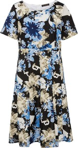 Sukienka bonprix z krótkim rękawem