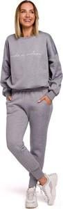 Spodnie sportowe MOE z bawełny