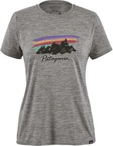 T-shirt Patagonia z krótkim rękawem z okrągłym dekoltem w sportowym stylu