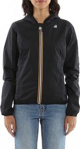 Czarna kurtka K-Way w stylu casual krótka