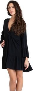 Sukienka Kaos mini w stylu casual z dekoltem w kształcie litery v