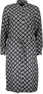 Sukienka Marc O'Polo z jedwabiu mini z długim rękawem