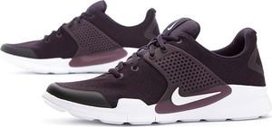 Fioletowe buty sportowe Nike sznurowane