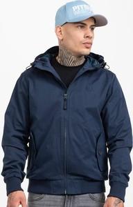 Niebieska kurtka Pit Bull krótka