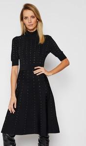 Czarna sukienka Patrizia Pepe