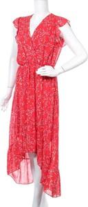 Czerwona sukienka Anna Ellis