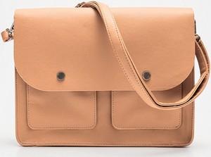 Pomarańczowa torebka Cropp na ramię w stylu casual matowa