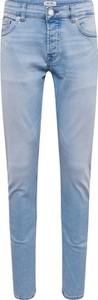 Niebieskie jeansy Only & Sons w street stylu z jeansu