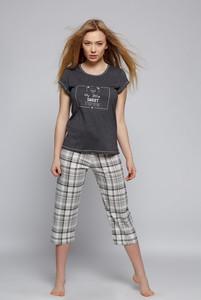 670246fa9410b6 piżama damska w kratkę - stylowo i modnie z Allani