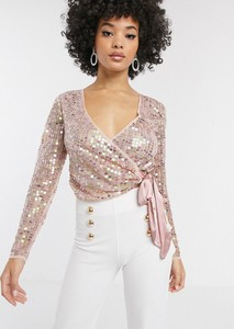 Różowa bluzka Asos