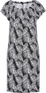 Sukienka bonprix bpc selection midi z okrągłym dekoltem